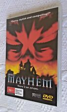 MAYHEM (DVD) REGION-4, LIKE NEW, FREE POST WITHIN AUSTRALIA
