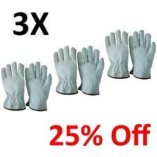 10 Inch Safet Gloves Unibody Cow Split Leather Work Driver Garden Welding Gloves