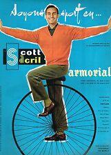 J- Publicité Advertising 1960 Vetements pour homme Armorial