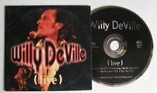 WILLY DEVILLE (CD Single 4 TRACKS) LIVE  - FNAC MUSIC 593068