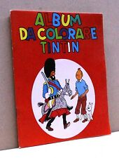 ALBUM DA COLORARE TINTIN
