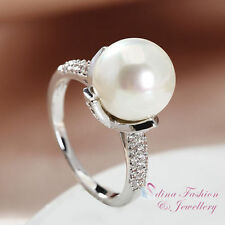 Pearl White Gold Simulated Fashion Jewellery