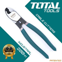 "Total Tools - CABLE CUTTER 8"" HAND PLIERS Heavy Duty Wire Fencing Snips"