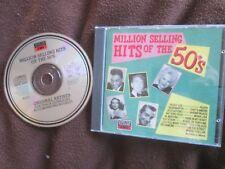 Million Selling Hits Of The 50's.Various Music For Pleasure CD-MFP 6047 CD Album