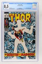 Thor #169 - Marvel 1969 CGC 8.5 Origin of Galactus concludes. Watcher and Therma