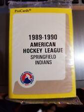 1989-90 Pro Cards AHL Springfield Indians Hockey Team Set Sealed