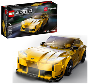 76901 LEGO Speed Champions Toyota GR Supra Sports Car 299 Pieces Age 7 Years+