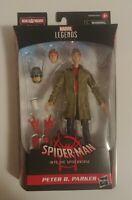 """Marvel Legends PETER B PARKER Spider-Man SPIDERVERSE  6"""" Fig BAF Stilt"""