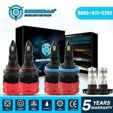 New listing 9005 H11 5202 Led Headlight Combo + Fog Bulbs for Chevy Suburban Tahoe 2007-2014
