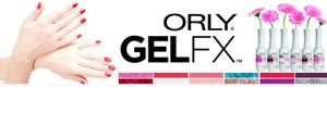 Orly GelFX Gel FX Soak Off Gel Polish Assorted Colors. Get your favorite colors!