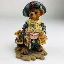 In Box Boyds Bears & Friends Folkstone Born To Shop Bear Figurine 228306 1997