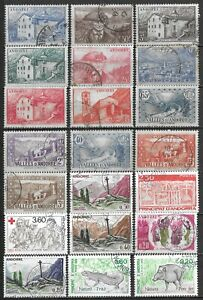 French Andorra Postally Used Selection $126 SCV