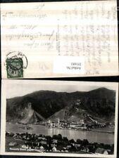 251681,Rossatz-Bach Totale geg. Dürnstein an d. Donau Totale m. Ruine