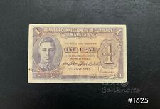 BOCOC Malaya - 1941 King 1 cent | VF
