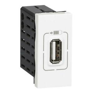 Chargeur prise USB Type-A 1,5A 5V= 7,5W Mosaic 1 module 230V Legrand 77591
