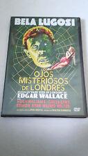 """DVD """"LOS OJOS MISTERIOSOS DE LONDRES"""" BELA LUGOSI WALTER SUMMERS"""