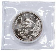 1991 China 1 oz Silver Panda 10 Yuan Coin GEM BU SKU56270