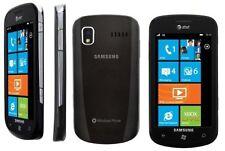 GOOD! Samsung Focus SGH-i917 WINDOWS WIFI Xbox HD Video Touch AT&T Smartphone