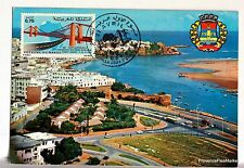 CARTE MAXIMUM  MAROC RABAT OUDAIAS  BOUREGREG     AV168
