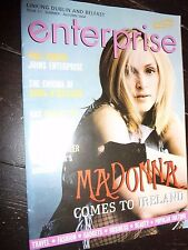 MADONNA Enterprise Magazine IRELAND Irish 2004 Re-Invention Tour Promo RARE NEW