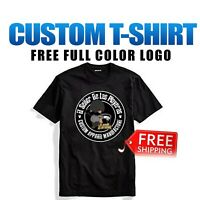 Custom Personalized T-Shirt Printing with your photo, text, logo anything lot