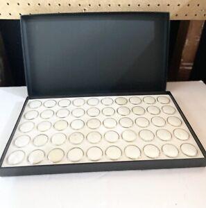 50 Grids Jewelry Gem Gemstone Bead Storage Display Box Case