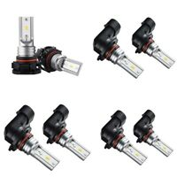 Led Fog Light Bulb, H16 Led Fog Lamp High Power Csp-Y11, Cool White 6500K ( Z1Z2