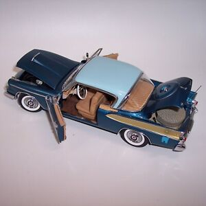 DANBURY MINT 1/24 1958 PACKARD  HAWK ***METALLIC BLUE***  MINT