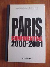 Paris Confidential 2000-2001 en anglais, Relié