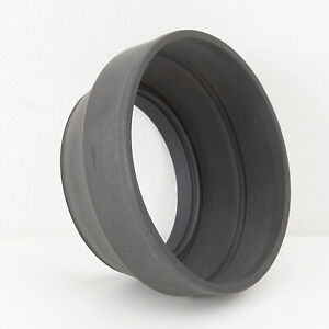 MAMIYA RUBBER M77 LENS HOOD for RB67 127-250mm or M645 145mm