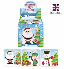 CHRISTMAS PUZZLE Kids Birthday Party Bag Stocking Filler Favors Jigsaw Toy Gift