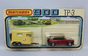 """Matchbox Lesney Superfast TP-3 FIELD CAR + HORSEBOX """" RARE COMBO with RED FC """""""