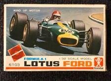BANDAI F1 LOTUS FORD 1960s VINTAGE JAPANESE CLOCKWORK KIT 1:32 VGC RARE OLD