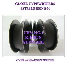 2 x 'OLIVETTI' *PURPLE* TYPEWRITER RIBBONS FOR MANUAL MACHINES *TOP QUALITY* 10M