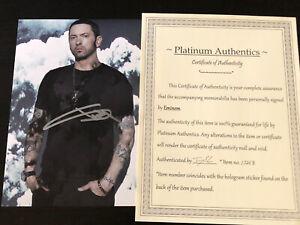 Eminem autographed 8x10 photo, signed, authentic, Slim Shady, COA
