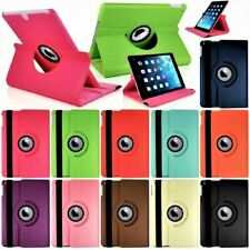 Leather 360 Rotating Case Cover For Apple iPad 10.2 9th Generation Air 1 2 Mini