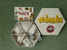 WADE Whimsies 6 Animals Boxed Set of 6 Whimsies *new*