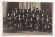PHOTO ANCIENNE Orchestre de musique Groupe de jeunes musiciens Vers 1930