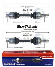 For Chevrolet Astro GMC Safari AWD 03-05 Pair Front CV Axle Shafts SurTrack Set