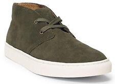 Polo Ralph Lauren Men 10.5D CHUKKA Boot Lace Up Casual Fashion Sneaker Shoe