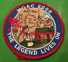 NOAC 2006  patch  Founders Day