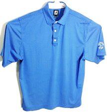 FootJoy Men's Blue Short Sleeve Polo Golf Shirt Size Large