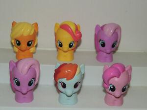 My Little Pony g4 friendship Playskool Ponies Applejack Rainbow Dash More!