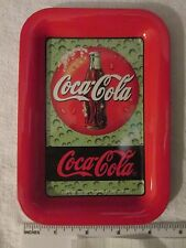 Coca Cola collectables Advertising  Display Trays from 1998
