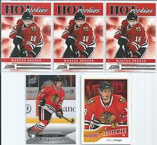 Marcus Kruger  11/12  5-RC Lot  w/Young Guns