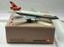 New Vintage Schabak SWISSAIR Douglas DC-10-30 Diecast 1:600 scale