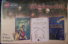 New Simply WORD CHORAL Club Christmas 2018 - 9 New Choir Songs Factory Sealed