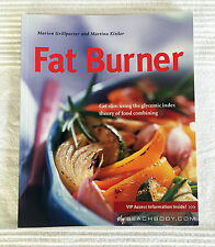Fat Burner:  Seven Day Eating Plan Book • Marion Grillparzer & Martina Kittler