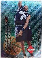 1996 96-97 Edge Rookie Rage Allen Iverson RC #19, Foil Insert 76ers