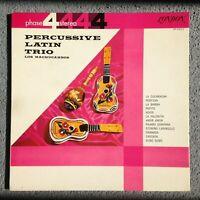 LOS MACHUCAMBOS - Percussive Latin Trio (1962) Vinyl LP (SP 44012) Latin Samba